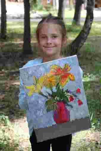 Мастер-класс по живописи