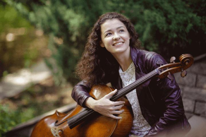Анастасия Кобекина - виолончель, Германия
